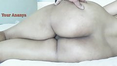 Indian Desi Bhabhi Ananya Shows her Asshole and sexy boobs