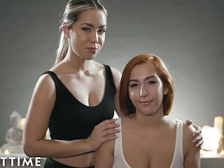Full body asian massage Asmr roleplay fantasy-full body lesbian massage- alina lopez