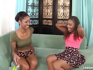 Black lesbian sistas - Sexy black girls lez out hardcore