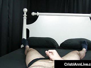 Asian sex video blow job - Asian latina cristi ann gives step brother his 1st blow job