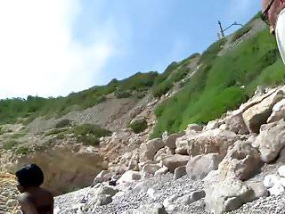 Google sex on beach - Petite ebony girl gets sex on beach