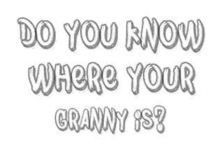 Zion narrows where do i pee Do you know where your granny is