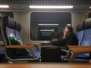 Train voyeur video - Late train