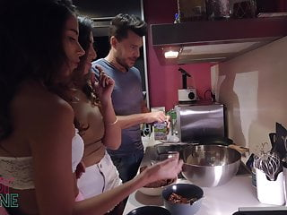 Naked latin american Latin american lesbians, cooking channel striptease -