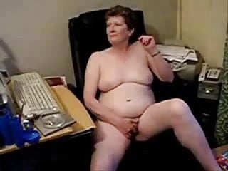 Old mature nude thumbs - Old lady masturbating totally nude