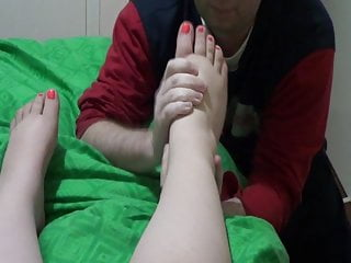 Mommia chubby feet pictures Licking my wifes soft chubby feet 1
