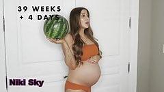 Niki Sky Youtuber-INSANE PREGNANCY TRANSFORMATION