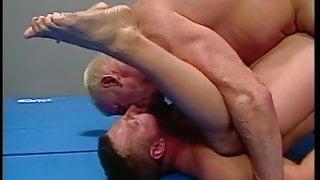 Brett and John wrestle and fuck