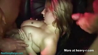 Hotwife Being A Slut At The Swingers Club