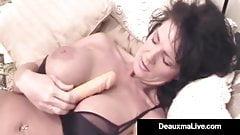 elicious Texas Milf Deauxma Dildo Bangs Her Pussy & Asshole
