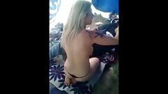 Geiler Fick im Zelt