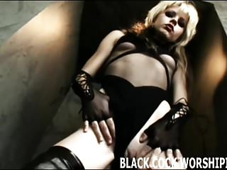Wifes white pussy needs black seed - My tight white pussy needs some big black cocks