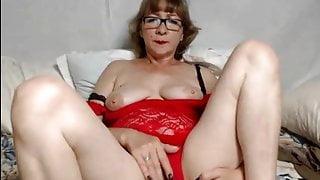 Webcam mature Lelapopins masturbating