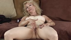 Shay Nollen blond milf skinny with shaved pussy