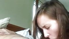 Amateur Beauty Performs Her Duty By Sucking Old Pervert (1)
