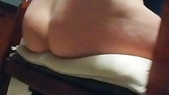 Milf Humps Pillow In Kitchen