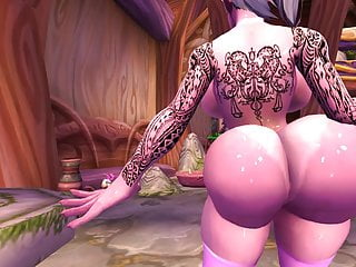 Elf young man hentai Night elf lapdance