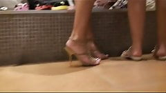 shopping for shoes.....and upskirts!