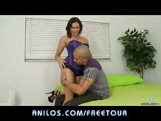Gooey matures - Horny cougar pussy milks a cock all the way to gooey facial