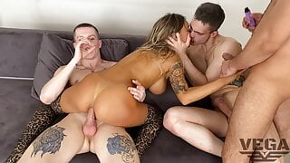 EIGHT HOT GUYS FUCKED HARD AND PISSED OFF MONICA FOX 7
