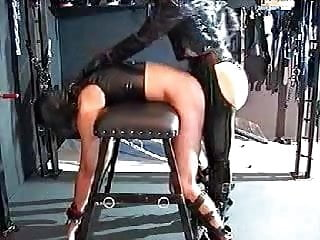 Strap-on doggie style video - Strap on doggy