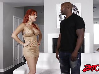 Freaks of cock ginger - Ginger milf savana styles drilled by bbc
