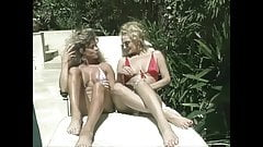 Becky and Rebecca poolside lesbian fuck, upscaled to 4K