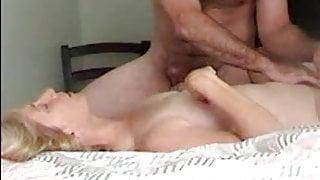 Couple enjoy mutual masturbation
