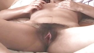 MY MATURE WIFE IS VERY EXCITED EXHIBITING HER HAIRY PUSSY
