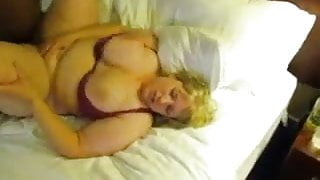 BBW white wife with her BBC black bull