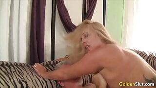 Golden Slut - Charming Matures Getting Railed Compilation