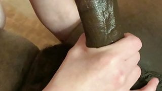 Cuck gives a helping hand with bbc