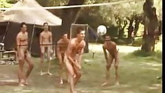 Accidental Naked Volleyball