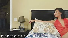 BiPhoria - Latin Bisexual Couple Seduce Their Handyman