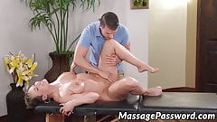 Cute MILF Ryan Keely gets sticky cum all over her juicy tits