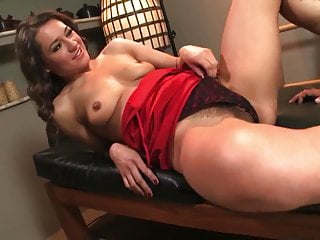 Hairy ass anal pussy Hairy bunette gets her ass and pussy pounded