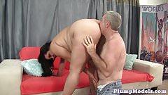 Bigass bbw beauty rides big cock