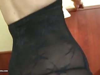 Old woman fuck movies Old woman rough anal with cumshot interracial fuck big cock