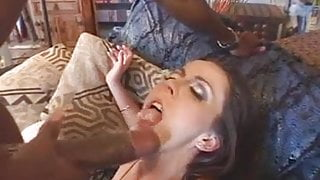 Mandingo goes deep in white pussy