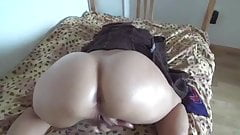 fucking hot MILF Orgasms from anal. pussy