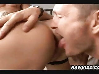Sexy blonde takes on 20 guys - Blonde takes on two guys