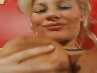 Natural breast blondes Blonde natural big beauti breasts takes 2cocks