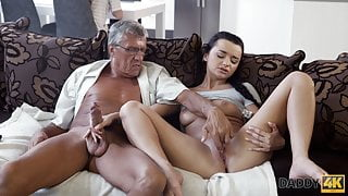 DADDY4K. Erica will never forget hot sex with step dad of her boy
