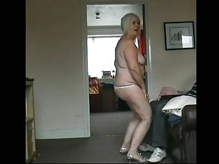 Videos of erotic naked grannys - 64 year old granny dancing naked