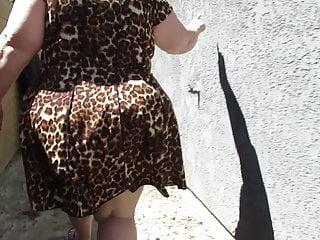 Best foundation mature skin Mature bbw pawg in leopard skin dress jigglin da bubble butt