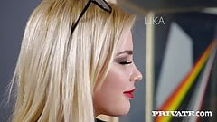 Private.com - Sweet Blonde Secretary Lika Star Butt Fucked!