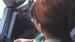 Настоящая стюардесса соблазняет 2