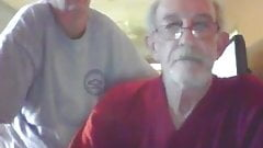older couple on cams (no nude)