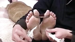 Slut Wrapped And Tickled