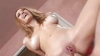 Redhead Goddess Squirting Anal